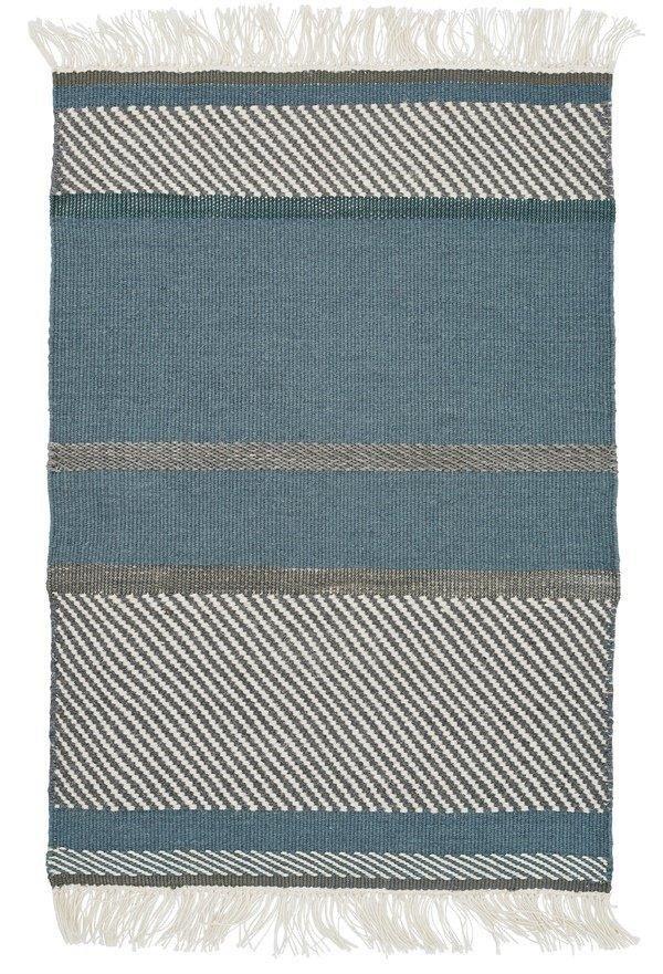 Dywan Linie Design Artwork Unit Blue Blue Dywany