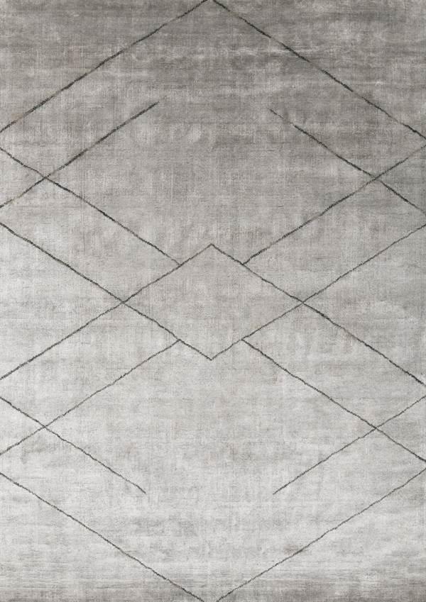 Dywan Linie Design Selected Tetsu Silver Silver Dywany