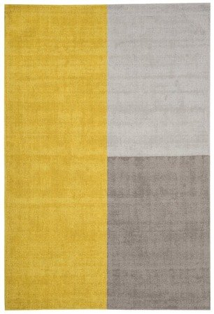 Dywan Asiatic Contemporary Design - BLOX Mustard