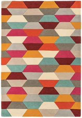 Dywan Asiatic Contemporary Design - FUNK Honeycomb Bright