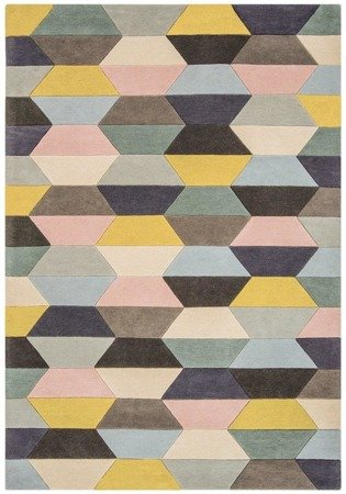 Dywan Asiatic Contemporary Design - FUNK Honeycomb Pastel