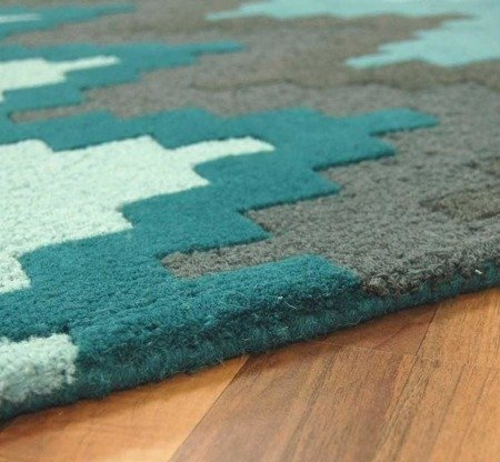 Dywan Asiatic Contemporary Design - MATRIX MAX21 Cuzzo Teal