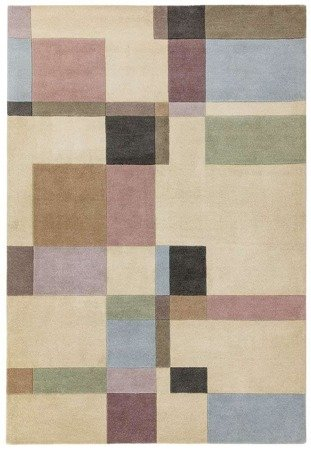 Dywan Asiatic Contemporary Design - REEF RF17 BLOCKS PASTEL WOOL