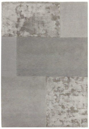 Dywan Asiatic Contemporary Plains - TATE Silver