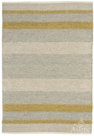 Dywan Asiatic Natural Weaves - FIELDS Mustard