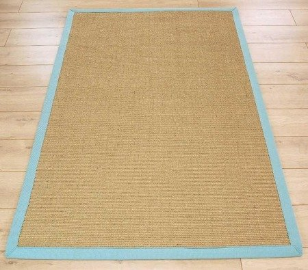 Dywan Asiatic Natural Weaves - SISAL Linen/Aqua