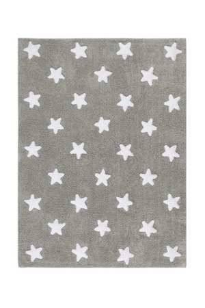 Dywan Lorena Canals  - GREY STARS White