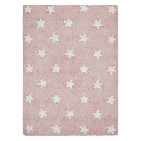 Dywan Lorena Canals  - PINK STARS White