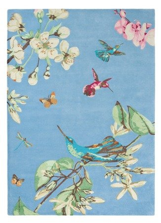 Dywan Wedgwood - HUMMINGBIRD Blue 37808